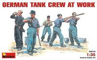 German Tank Crew at Work 1/35
