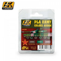 PLA (People's Liberation Army) Army Colors Add On Set