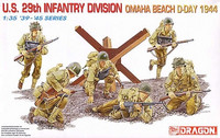 US 29th Infantry Divsion Omaha Beach D-Day 1944 1/35