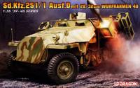 SdKfz 251 Ausf.D mit 28/32cm Wurfrahmen 40 (2 in 1) 1/35