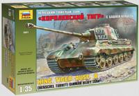 Kingtiger with Henschel Turret SdKfz 182 (Uusi sarja!) 1/35