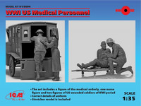 WWI US Medical Personnel (4 figures) 1/35