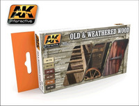 Old & Weathered Wood Vol.1 (6 Colors)