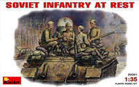 Soviet Infantry at Rest 1/35