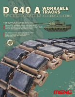 D640A Workable Track links for Leopard I Family 1/35
