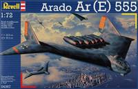 Arado Ar (E) 555 Stratecic Bomber 1/72