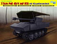 7.5cm Pak 40/4 auf RSO mit Allwetterverdeck (Smart Kit) 1/35