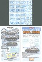 LSSAH PzIV Ausf.G Kharkov Numbers (Set A Paint Mask) 1/35