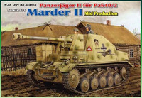 Panzerjäger II fur PaK 40/2 Marder II Mid Production 1/35
