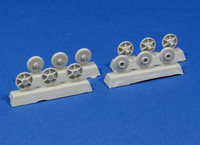 Steel return rollers for StuG III (Pattern C) 1/35