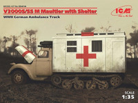 V3000S/SS M Maultier with Shelter Ambulance Truck 1/35