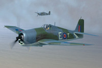 British Fleet Air Arm Hellcat Mk II 1/48