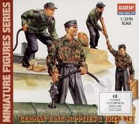 German Tank Supplies & Tank Crew
