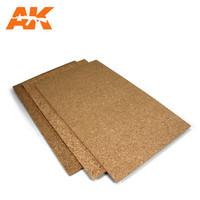 Cork Sheet 200 X 300 X 1mm Fine Grained