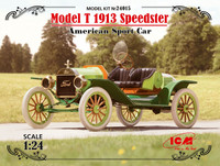 Model T 1913 Speedster American Sport Car 1/24