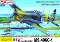 Morane Sauliner MS.406 C-1 (New Tool Canopy) 1/48