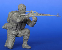 Russian soldier with Dragunov SVD Sniper Rifle. Afghanistan 1/35