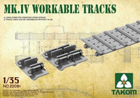 Workable Tracks for Mark IV Tanks 1/35