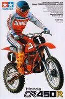 Honda CR 450R Motocross Bike with Rider