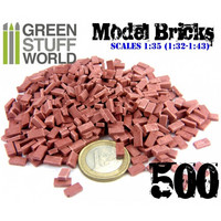 Model Bricks Dark Red (500 pcs)