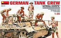 "German Tank Crew ""Afrika Korps"" 1/35"