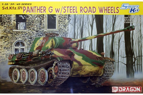 Panther G w/Steel Road Wheels 1/35
