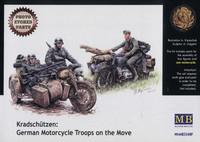 Kradschutzen: German Motorcycle Troops on the Move 1/35