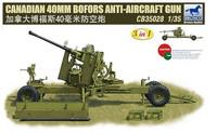 Canadian 40mm Bofors Anti-Aircraft Gun 1/35