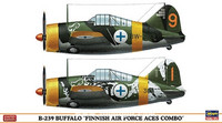 "Brewster B-239 Buffalo ""Finnish Air Force Aces Combo"" 1/72"