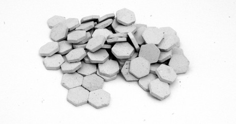 Paving stones Hexagon