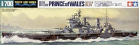 Prince of Wales British Battleship 1/700