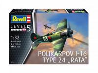 "Polikarpov I-16 Type 24 ""Rata"" 1/32"