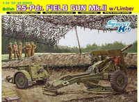 British 25-Pdr Field Gun Mk.II with limber 1/35