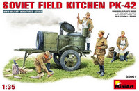 Soviet field kitchen PK-42 1/35
