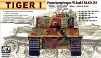 Tiger I Late type with zimmerit 1/48