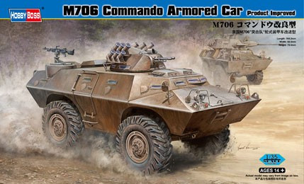 M706 COMMANDO ARMORED CAR - IMPROVED 1/35