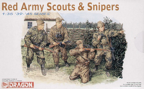 Soviet Scouts & Snipers 1/35