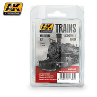 Trains Weathering Set 1