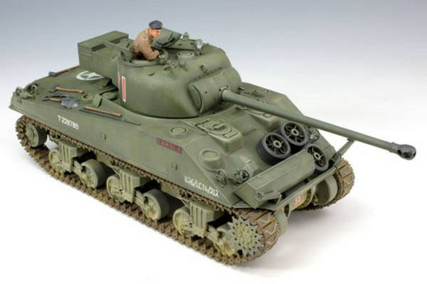 Sherman Vc Firefly with Cast Cheek Arour Turret 1/35