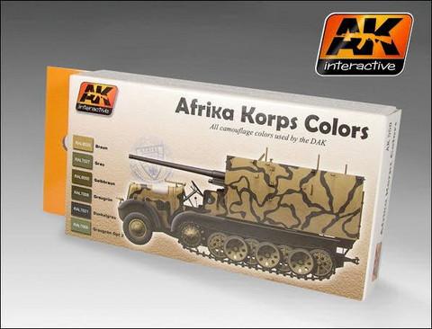 Afrika Korps Color Set (kuusi väriä)