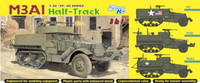 M3A1 HALF-TRACK (3 IN 1) 1/35