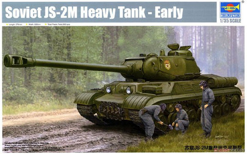 JS-2M Soviet Heavy Tank, Early Version 1/35