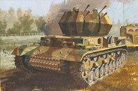 "Flakpanzer IV Ausf.G ""Wirbelwind"" Early Production with Zimmerit ""Smart Kit"" 1/35"