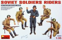 Soviet Soldiers Riders 1/35