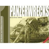 Panzerwrecks 1 96 sivua, 126 valokuvaa