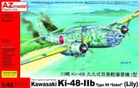 "Kawasaki Ki-48-IIb Sokei ""Lily"" (Bonus Ki-148 missile) 1/48"