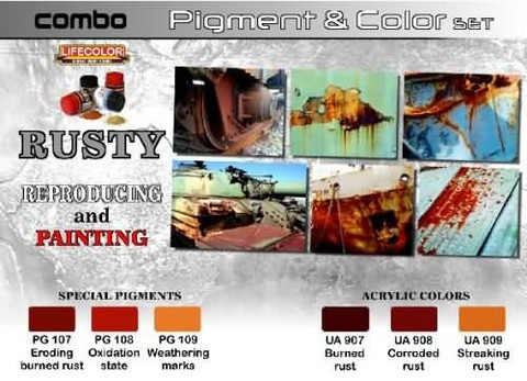 Rusty Pigment & Color Set