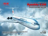 Ilyushin IL-62M Soviet Passenger Aircraft (Aeroflot) 1/144