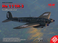 Heinkel He-111H-3 German Bomber (New Tool) 1/48