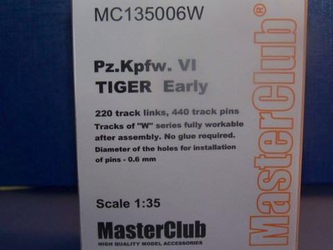 Tracks for Pz.Kpfw.VI Tiger Early 1/35